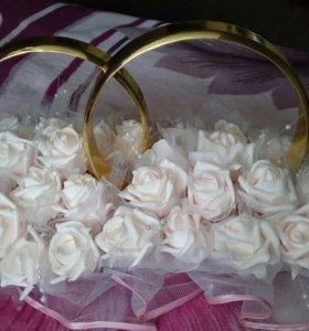 Свадебные украшения для авто