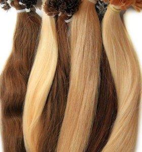 Капсуляция волос для наращивания