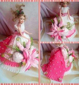 Куклы из конфет