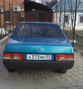 ВАЗ 21099 0.6 МТ, 1995, седан
