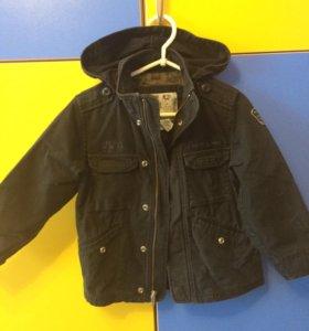 2 куртки на рост 116-122