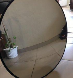 Обзорное зеркало безопасности для магазина