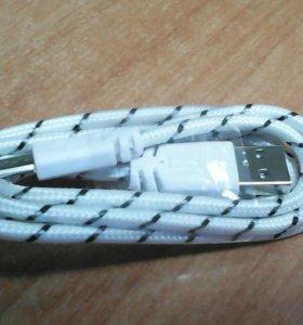 Кабель USB micro USB В нейлоновой оплетке