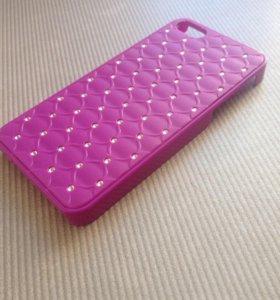 Пластиковый чехол 5 iphone