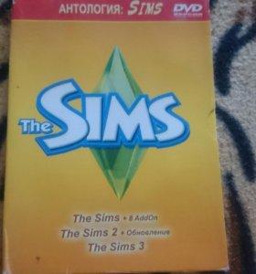 Игра на компьютер The Sims