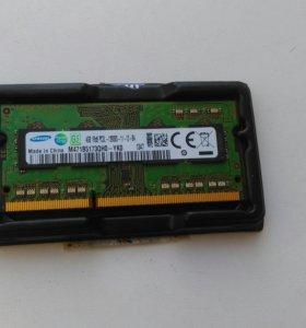 ОЗУ 4GB для ноутбука