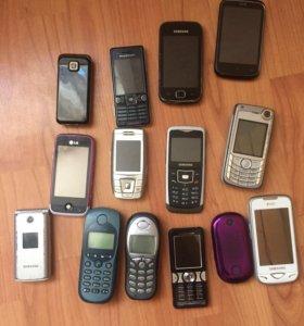 Телефоны на запчасти и планшет