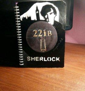 Блокнот с Шерлоком
