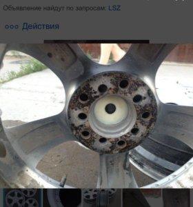 Литые диски R17 универсальные