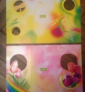 3 новые открытки 8 Марта