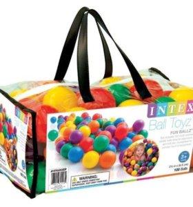 100шт шары для детских игр