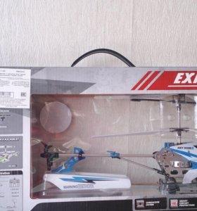Вертолет с гироскопом металлический
