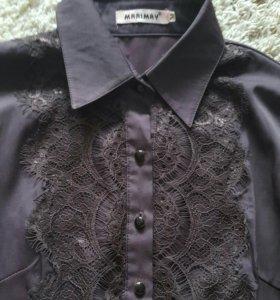 Рубашка с гепюром