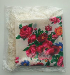 Японский платок Чори 76х76 см Шерсть