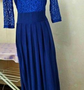 Платье длинное новое с этикеткой