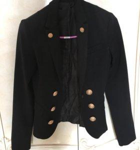 Стильный пиджак стиля balmain