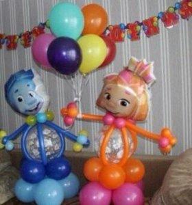 Фиксики из шаров