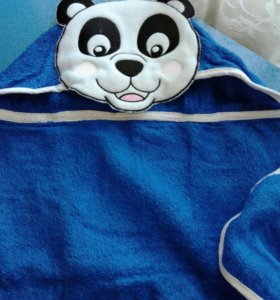 Полотенце с капюшоном новое