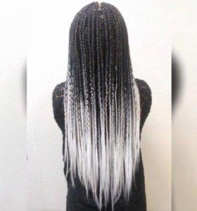 Плетение афро кос