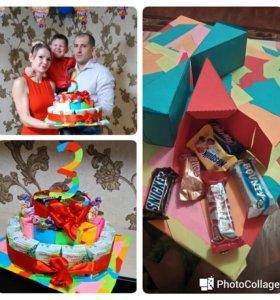 Тортик на детский праздник