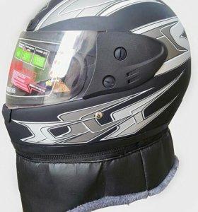 Шлем мотоциклетный, мотошлем AHP всесезонный