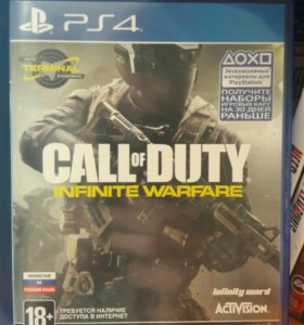 Call of Duty infinite War PS4 Sony Playstation 4