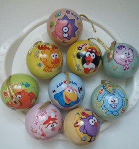Смешарики шарики (круглые)