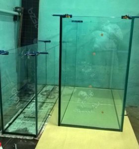 Изготовление аквариумов под ключ