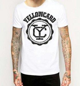 Футболка Yellowcard (Merch) Pop Punk