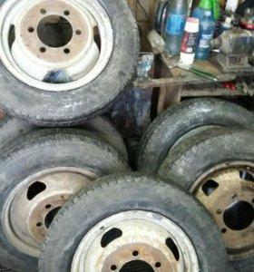 Шипованные колеса на ГАЗель