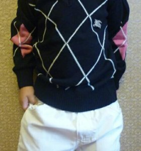 Свитер пуловер Burberry 1-5л