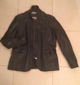 Пиджак-Куртка кожаная Труссарди