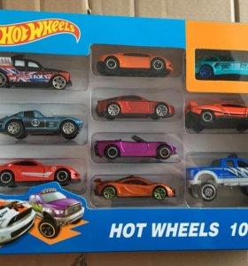 Гоночные машинки Hot Wheel 10 шт.