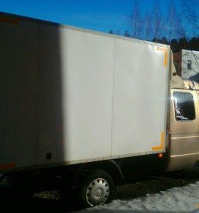 Перевозки и переезды, газель фургон