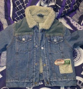 Теплая куртка на мальчика 3 года,92-95 см рост