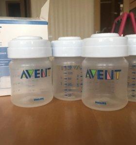 Набор контейнеров Avent /Авент новый