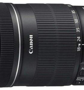 Объектив Canon 18-135 mm
