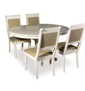 Стол и стулья! Идеальный комплект!