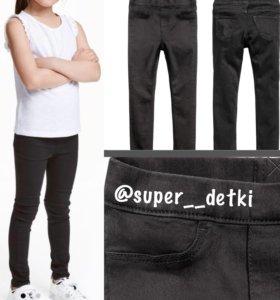 Новые джинсовые легинсы H&М