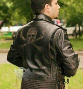 Кожанная куртка(Косуха)