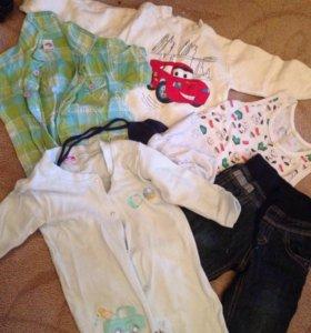 Одежда  детская для мальчика от 6 до 12 мес