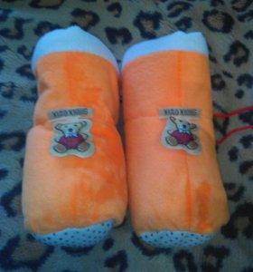 Первые валеночки для малыша