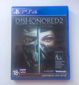 Игра для SPS 4 Dishonored 2