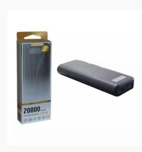 Внешний АКБ 19PL 20000 mAh черный ORIG PRODA