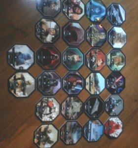 Карточки из коллекции Star Wars