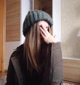Объёмная шапка Zara