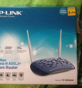 Модем с wi fi Tp link the reliable choic