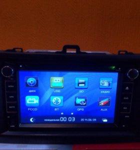 Автомагнитола Toyota Corolla, Filder,Axio с GPS
