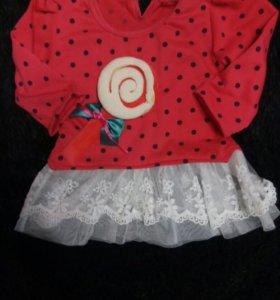 Модные платья для девочки