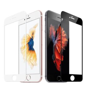 Защитные стекла 3D на iPhone 6/6s
